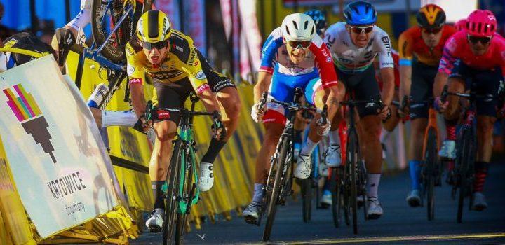 Sprint 1r etapa Tour de Polonia Fabio Jakobsen y Dylan Groenewegen
