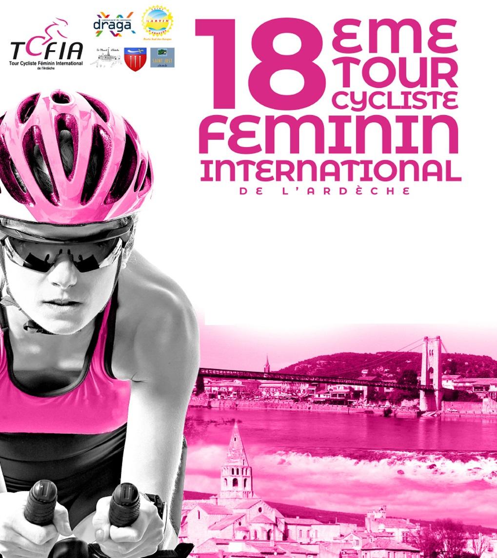 Poster Tour Cycliste Féminin International de l'Ardèche
