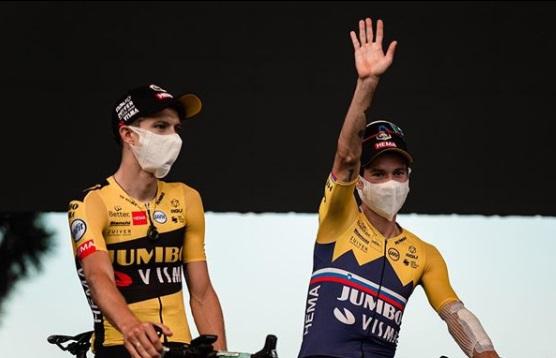Presentación del Tour de Francia 2020 equipo Jumbo-Visma