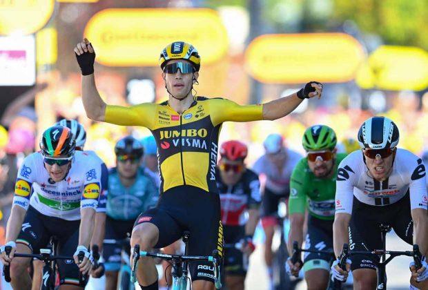 Wout Van Aert Tour Francia 2020 etapa 5